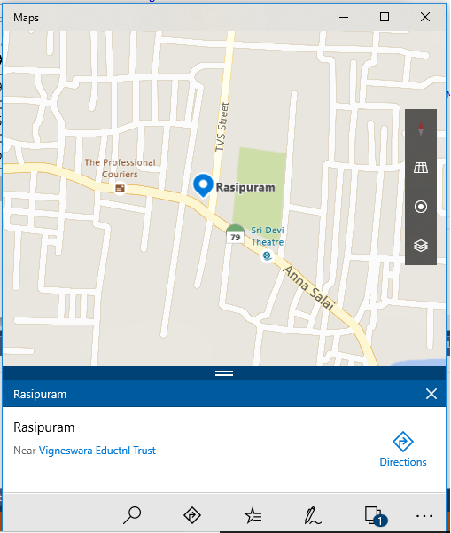 Open A Specific Location Using Maps In Xamarin Forms Application Using Xamarin Essentials For Android And UWP