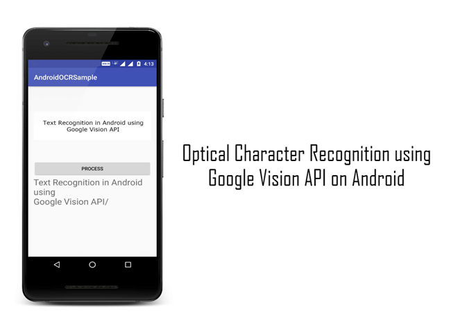 Optical Character Recognition in Android