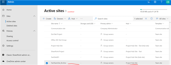 SharePoint Online - Hub Sites