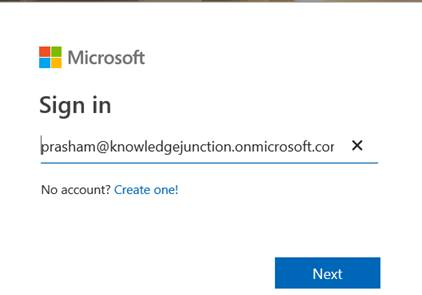 Office 365 - signing with Office 365 account to bing.com