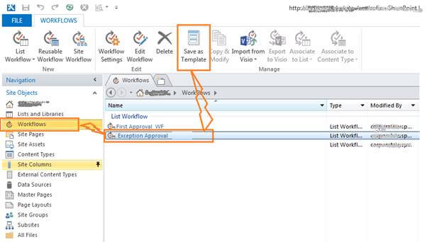 Packaging And Deploying In SharePoint 2013 Designer Workflow