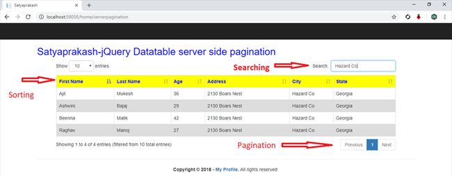 Performance Issue In jQuery Datatable About Fetching Records