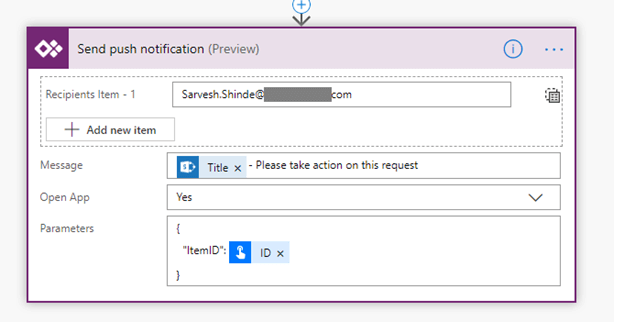 Use PowerApps Push Notification To Open App