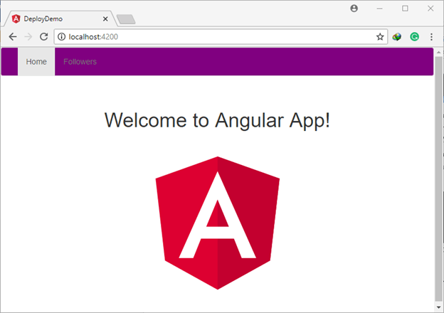 Preparing The Angular Apps For Deployment