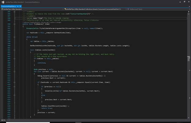 Presenting Code Samples with a Dark Theme