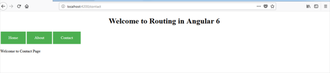 Routing and WildCard Route In Angular 6