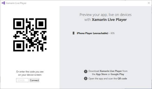 Xamarin Live Player