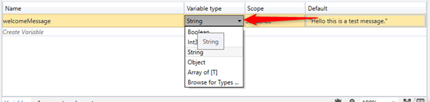 Sample Hello Program UIPath And Use Of Variables