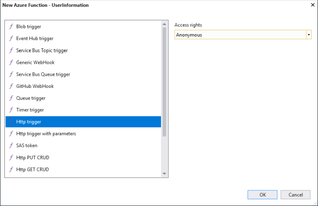 Secure Azure Function with Azure AD