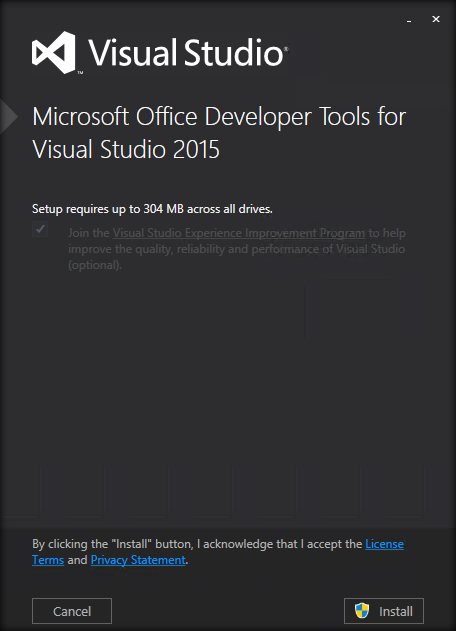 Set Up Sharepoint Server 2016 Project Templates For Visual Studio 2015