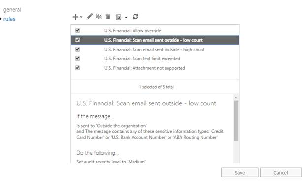 Setting Up DLP In Office 365 Exchange Online