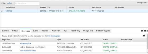 Setup Your EC2 Instance And RDS Using CloudFormation