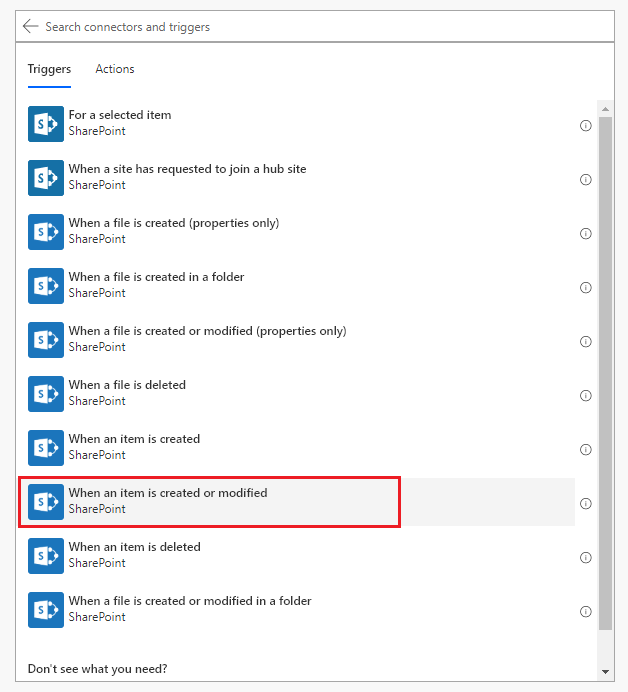 SharePoint 2019 MS Flow Integration