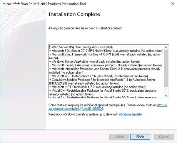SharePoint 2019 Public Preview Installation