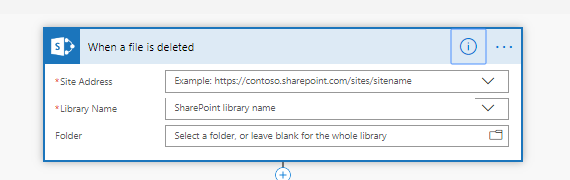 SharePoint Based Triggers In MS Flow
