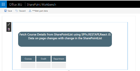 SharePoint Framework aka SPFx Web Part Using React And REST API