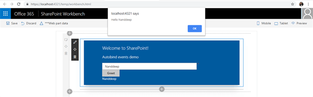 SharePoint Framework - React AutoBind Events