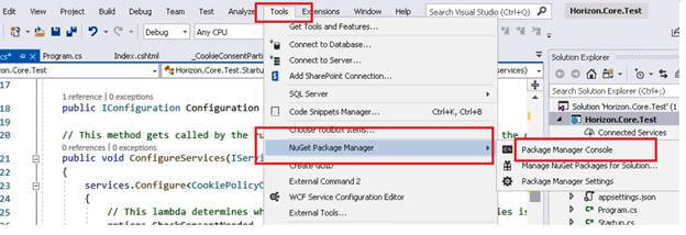 SQL Server And CRUD Operations Using .NET Core 2 And Entity Framework