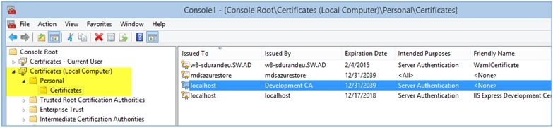 SSL Certificate Based Authentication In Web API Project