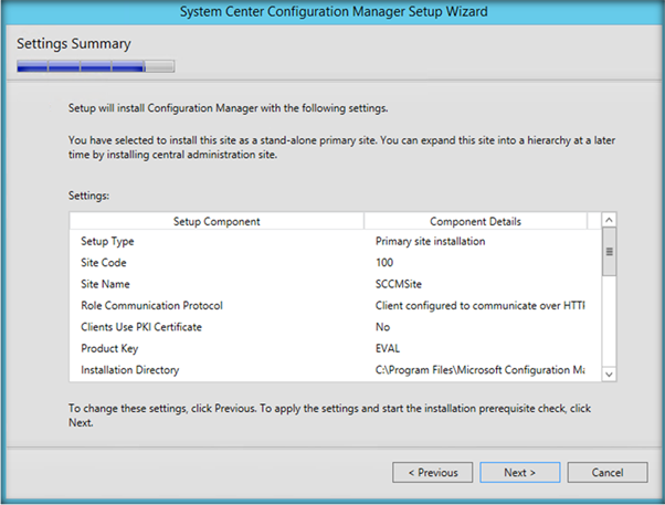 Step By Step Walkthrough To Set Up System Center Configuration