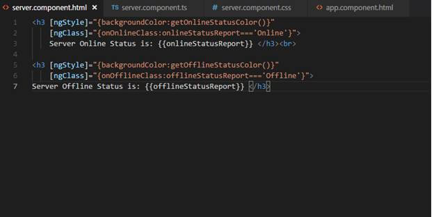 String Interpolation, NgStyle, NgClass in Angular 7.0