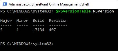 Sync A Property From Azure Active Directory To SharePoint Online Using PowerShell