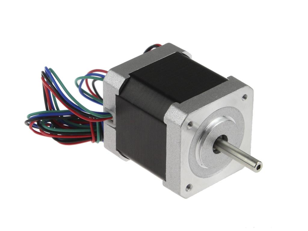 Connecting and controlling the stepper motor in motor shield for Servo motor stepper motor