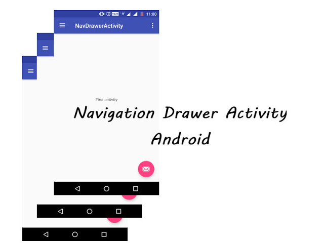 Navigation Drawer With Fragments Part 1 Menu And Activity Theme Android Studio Tutorial