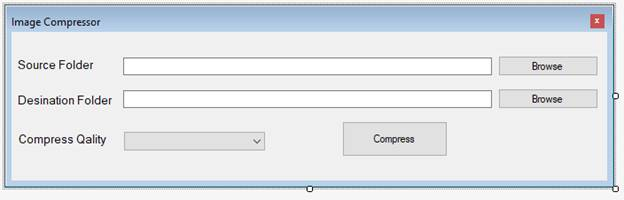 Image Compressor Using Windows Forms With C#