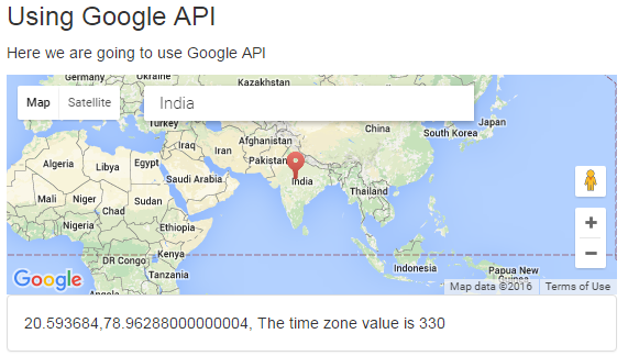 Creating time zone calculator using jquery google api time zone calculation using google api gumiabroncs Choice Image