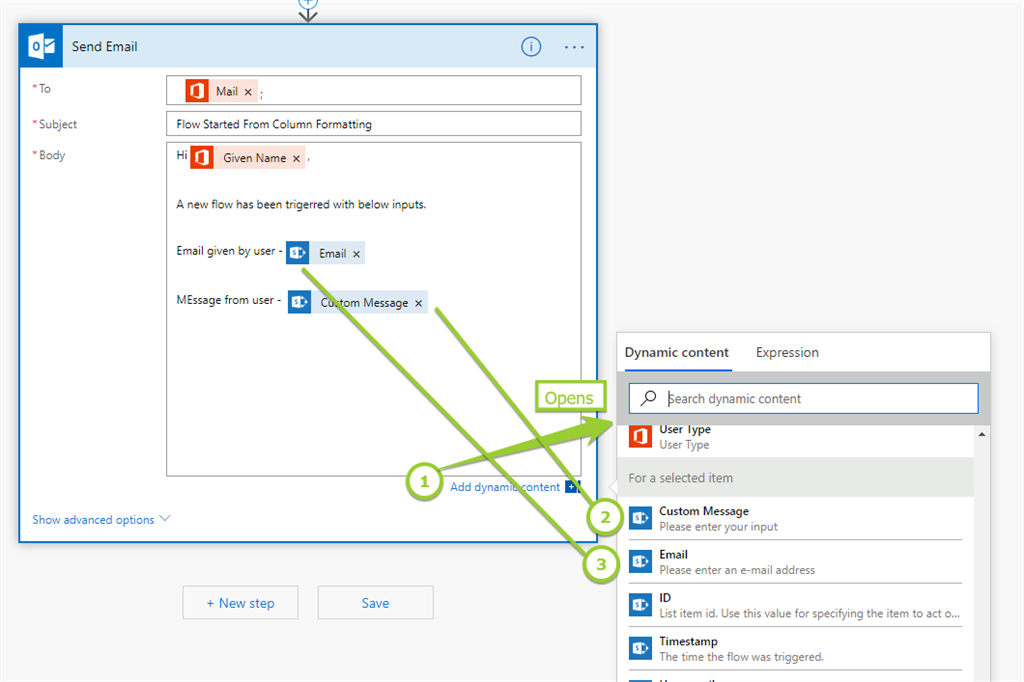 Trigger MS Flow On SharePoint List Items Based On Column Formatting