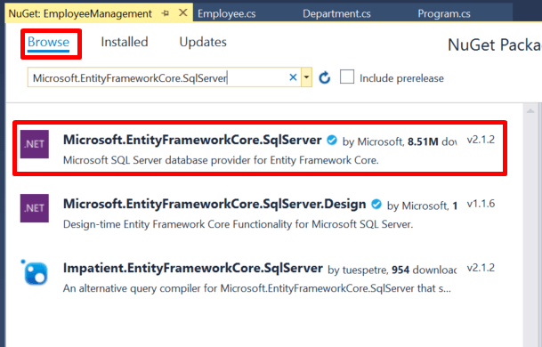 Understanding Entity Framework Core and Code First Migrations in EF Core