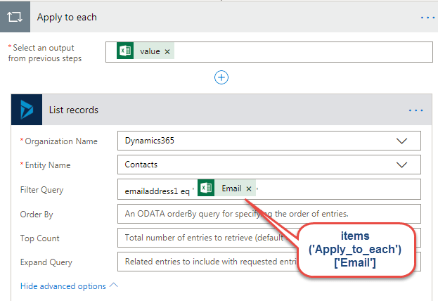 email id from excel file