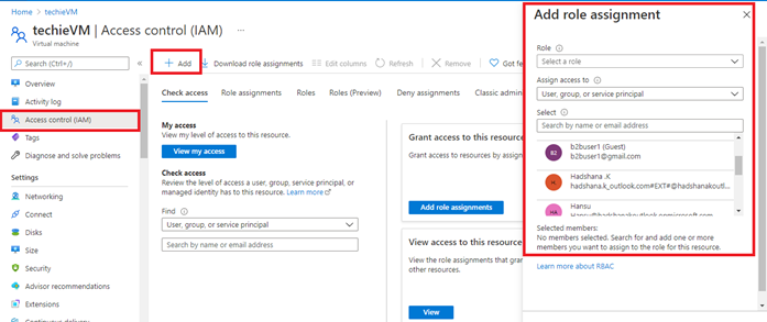 Using Azure Active Directory authentication in Sign into Windows virtual machine