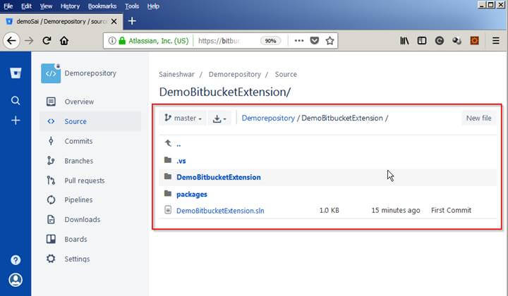 Bitbucket Extensions