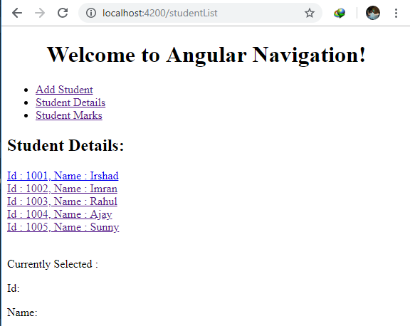 Using ParamMap Observable For Handling Route In Angular