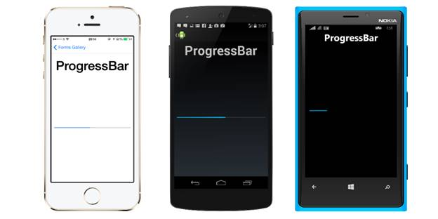 Progress Bar in Xamarin