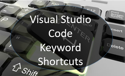 Visual Studio Code Keyboard Shortcut For Windows