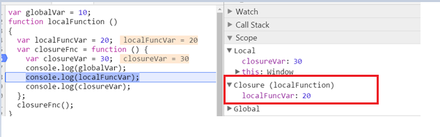 how to return to function outside callback function javascript