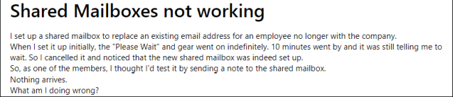 What Are Office 365 Shared Mailbox Limitations And How To Overcome