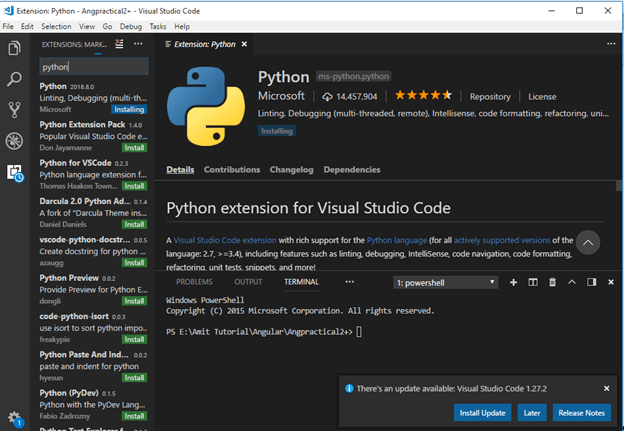 How To Install Python And Configure It With Visual Studio Code Editor With Git Bash