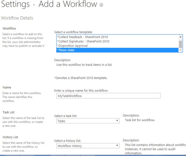 What Is Three State Workflow In SharePoint 2013?