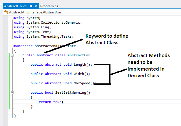 When to Use Interface And When To Use Abstract Class - Part One