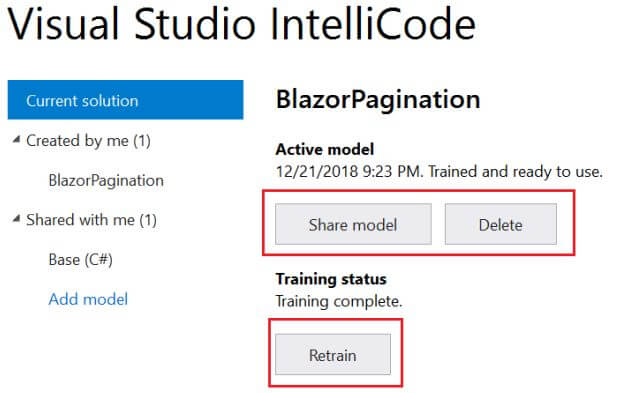 Work with AI-assisted IntelliCode in VS 2017 and VS Code