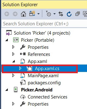 Picker Working Arithmetic Operators Android UWP Using Xamarin.Forms