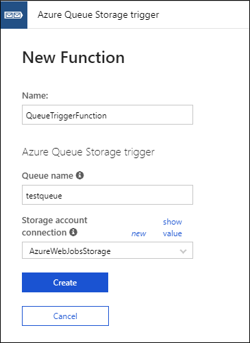 Working With Queue Storage Trigger Azure Functions​
