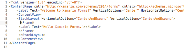 Xamarin.Forms - Border Shadow Effects Using Frame