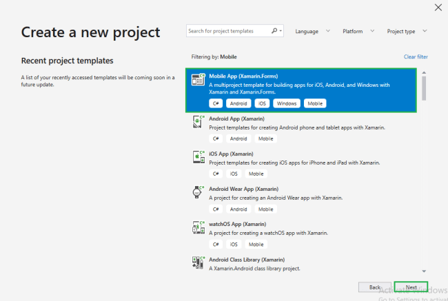 Xamarin.Forms - Add Android Project in Existing Project