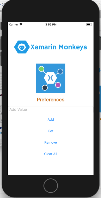 Application Preferences Using Xamarin Essentials