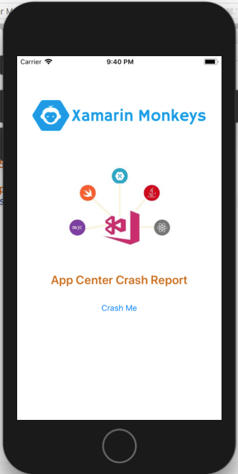 Xamarin.Forms - Crashes in Visual Studio App Center